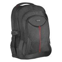 """Batoh na notebook 15,6"""", Carbon, černý z polyesteru, nepromokavé dno a boční kapsy, Defende"""