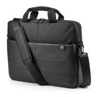 """Taška na notebook 15,6"""", Classic Briefcase, černá z nylon, HP"""