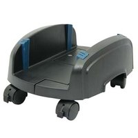 Držák PC na zem, nastavitelná šířka, černý, plast, šířka 15,5 - 25,5 cm, černá, PC