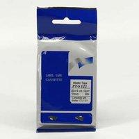 Master tape kompatibilní páska do tiskárny štítků, pro Brother, PT-S121, černý tisk/průsvitný podkla