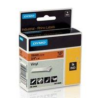 Dymo originální páska do tiskárny štítků, Dymo, 18436, S0718500, černý tisk/oranžový podklad, 5.5m,