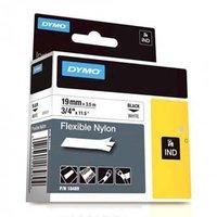 Dymo originální páska do tiskárny štítků, Dymo, 18489, černý tisk/bílý podklad, 3.5m, 19mm, RHINO ny