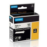 Dymo originální páska do tiskárny štítků, Dymo, 18508, S0718160, černý tisk/průhledný podklad, 5.5m,