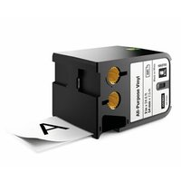 Dymo originální páska do tiskárny štítků, Dymo, 1868755, černý tisk/bílý podklad, 7m, 54mm, XTL viny