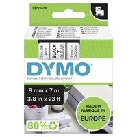 Dymo originální páska do tiskárny štítků, Dymo, 40910, S0720670, černý tisk/transparentní podklad, 7