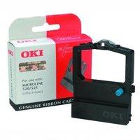 OKI originální páska do tiskárny, 9002315, černá, OKI 520, 521