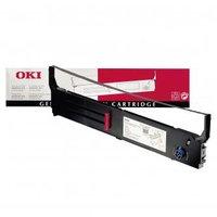 OKI originální páska do tiskárny, 40629303, černá, OKI 4410