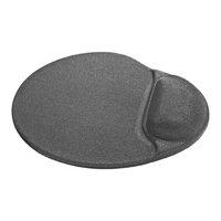 Podložka pod myš, polyuretan, šedá, 26x22.5cm, 5mm, Defender, lycrový povrch