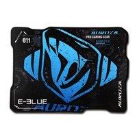 Podložka pod myš, Auroza, herní, černo-modrá, 36.5x26.5 cm, E-Blue