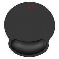 Podložka pod myš G-WMP 100,s gelovou podložkou, látková,protiskluzová, černá, 250*230 mm, 25 mm, Gen