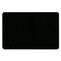 Podložka pod myš, ultra tenká, černá, 23x15 cm, 0.4 mm, Logo