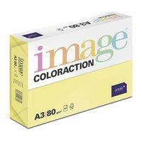 Xerografický papír Coloraction, Canary, A3, 80 g/m2, středně žlutý, 500 listů, vhodný pro inkoustový