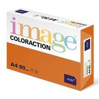Xerografický papír Coloraction, Amsterdam, A4, 80 g/m2, cihlově oranžový, 500 listů, vhodný pro inko