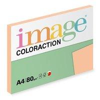 Xerografický papír Coloraction, Savana, A4, 80 g/m2, světle oranžový, 100 listů, vhodný pro inkousto
