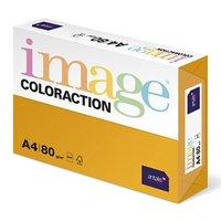 Xerografický papír Coloraction, Venezia, A4, 80 g/m2, tmavě oranžový, 500 listů, vhodný pro inkousto