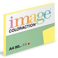 Xerografický papír Coloraction, Florida, A4, 80 g/m2, citrónově žlutý, 100 listů, vhodný pro inkoust