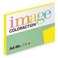 Xerografický papír Coloraction, Sevilla, A4, 80 g/m2, tmavě žlutý, 100 listů, vhodný pro inkoustový