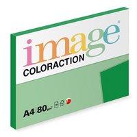 Xerografický papír Coloraction, Dublin, A4, 80 g/m2, tmavě zelený, 100 listů, vhodný pro inkoustový