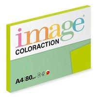 Xerografický papír Coloraction, Java, A4, 80 g/m2, středně zelený, 100 listů, vhodný pro inkoustový