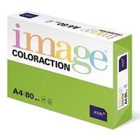 Xerografický papír Coloraction, Java, A4, 80 g/m2, středně zelený, 500 listů, vhodný pro inkoustový