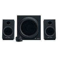 Logitech reproduktory Z333, 2.1, 40W, černé, ovládací panel, výborné basy