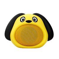 Promate Bluetooth reproduktor Snoopy, Li-Ion, 1.0, 3W, žlutý, ,pro děti