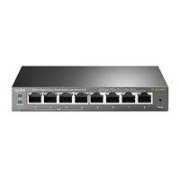 TP-LINK stolní switch TL-SG108PE PoE, 1000Mbps, 4x aktivní PoE, Easy smart, Auto MDI/MDI-X