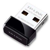 TP-LINK, TL-WN725N, mini USB adapter, Wireless 2,4Ghz, 150Mbps, (18.6 x 15 x 7.1mm)