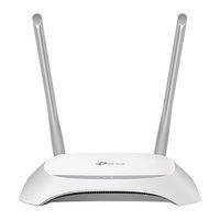 TP-LINK router TL-WR840N 2.4GHz, extender, přístupový bod, IPv6, 300Mbps, externí pevná anténa, 802.