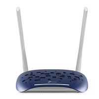 TP-LINK modem s routerem TD-W9960 2.4GHz, IPv6, 300Mbps, externí pevná anténa, 802.11n, VDSL/ADSL, r