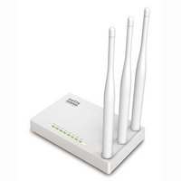 NETIS router WF2409E 2.4GHz, extender, přístupový bod, 300Mbps, externí pevná anténa, 802.11n, WISP,