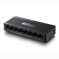 NETIS stolní switch ST3108S 100Mbps, auto MDI/MDIX , plug-and-play