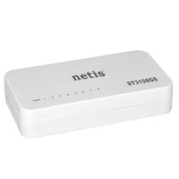 NETIS stolní switch ST3108GS 1000Mbps, auto MDI/MDIX , plug-and-play