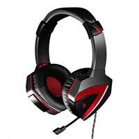 A4Tech G501, sluchátka s mikrofonem, ovládání hlasitosti, černá, 7.1 surround (virtuálně), herní slu
