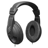 Defender Gryphon 751, sluchátka, ovládání hlasitosti, černá, uzavřená, 3.5 mm jack