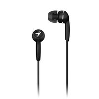 Genius HS-M320, sluchátka, bez ovládání hlasitosti, černé, 3.5 mm jack špuntová