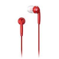 Genius HS-M320, sluchátka, bez ovládání hlasitosti, červené, 3.5 mm jack špuntová