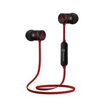 Powerton bezdrátová bluetooth sluchátka W2, s magnetickým uchycením, mikrofon, ovládání hlasitosti,