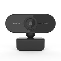 Powerton HD Webkamera PWCAM2, 1080p, USB, černá, FULL HD, 30 FPS