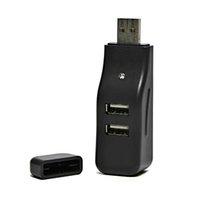 USB (2.0) HUB 4-port, 335, černá, LED signalizace