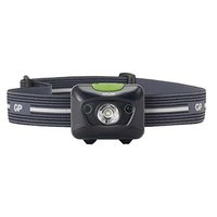 LED čelovka, 3xAAA, ABS plast, černá, 300lm, 157m, PH15