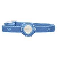 LED čelovka, 2xCR2025, plast, modrá, 40lm, 8m, CH31