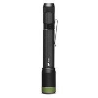 LED svítilna, 2xAA, kovová, černá, 150lm, C33
