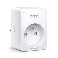 Chytrá zásuvka Tapo P100 220-240 V 50/60 Hz, dle dosahu WiFi, MAX.2990W, bílá, TP-LINK, dálkové ovlá