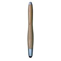 Dotykové pero, kapacitní, dřevo, světle hnědé