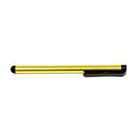 Dotykové pero, kapacitní, kov, žluté, pro iPad a tablet