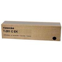 Toshiba originální toner T281CEK, black, 20000str., 6AJ00000041, Toshiba e-Studio 281c, 351e, 451e,