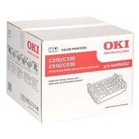 OKI originální válec 44494202, CMYK, 20000str., OKI C310, C330, C510, C530