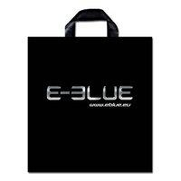 E-Blue igelitová taška, 46x50 cm, 100-pack