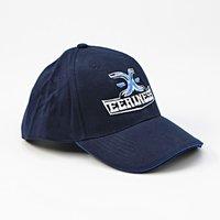 EERINESS - kšiltovka, modrá, vyšité logo